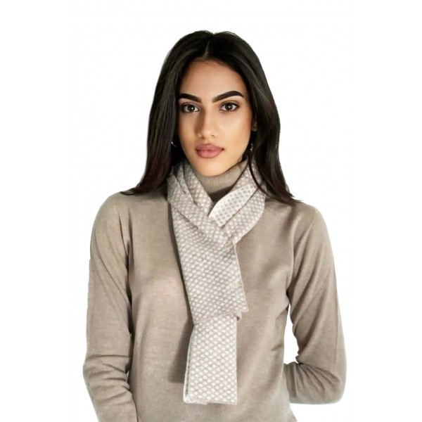 SCARF 2 BUTTONS POIS